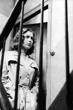 Marie Dubois as Lena in Truffaut's Shoot the Piano Player.
