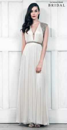 Catherine Deane has launched her latest show-stopping bridal range Wedding Dresses 2014, Bridal Dresses, Wedding Gowns, Bridesmaid Dresses, Formal Dresses, Wedding Designs, Wedding Styles, Wedding Ideas, Catherine Deane Bridal