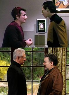 Cool...ST:TNG and Warehouse 13