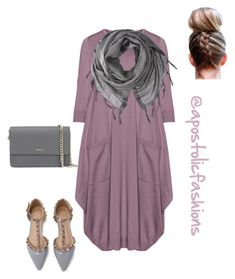 Apostolic Fashions #1670 by apostolicfashions on Polyvore featuring polyvore, fashion, style, Isolde Roth, DKNY, Love Quotes Scarves and clothing