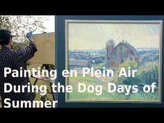 Capturing Morning Light en Plein Air in Vernon County | Plein Air VLOG - YouTube