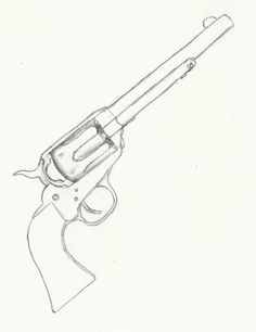 colt revolver drawings - Google Search
