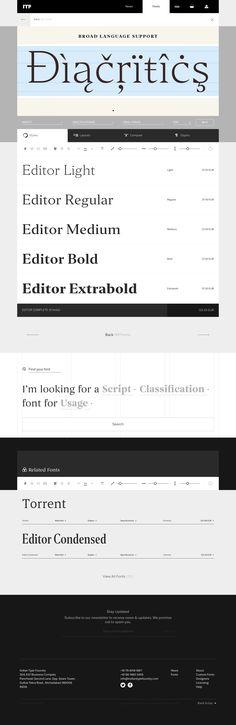 Editor font