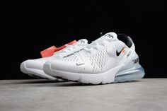 Products Descriptions:  Off-White x Nike Air Max 270 White Black Mens Running Shoes Free Shipping  SIZE AVAILABLE: (Men)US7=UK6=EUR40 (Men)US7.5=UK6.5=EUR40.5 (Men)US8=UK7=EUR41 (Men)US8.5=UK7.5=EUR42 (Men)US9=UK8=EUR42.5 (Men)US9.5=UK8.5=EUR43 (Men)US10=UK9=EUR44 (Men)US10.5=UK9.5=EUR44.5  Tags: Nike Air Max 270, Off-White Shoes, Off-White, Off-White Air Max Model: OFFWHITE-OFN801-129 5 Units in Stock Manufactured by: OFF-WHITE Running Shoes For Men, Mens Running, Nike Air Max, Nike Shoes, Sneakers Nike, Off White Shoes, Air Max 270, Jordan, Shoes Online