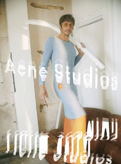"""Surfer Robin Kegel fronts the Spring/Summer 2016 campaign of Acne Studios, photographed by David Sims. """"I'm obsessed with surfing, and have long admired Robin and his aesthetic. The campaign images were shot in Robin's studio in Biarritz... »"""