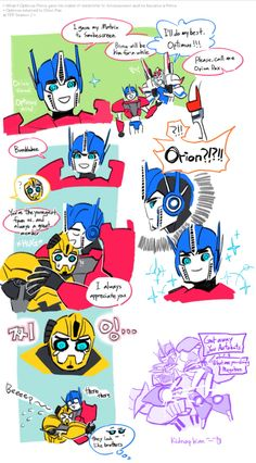 If Optimus gave Smokescreen the matrix, or if Smokescreen became the new Prime and Optimus reverted to Orion Pax.