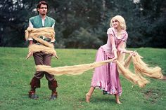 One of the best shots of a Tangled cosplay I've ever seen :)