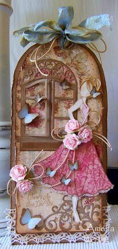Found on sugarcreekhollow.blogspot.com - Wendy Schultz ~ Prima ~ Julie Nutting Doll Stamps.