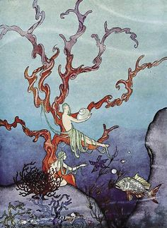 Virginia Frances Sterrett  Proserpina and the Sea Nymphs, Tanglewood Tales. Retold by Nathaniel Hawthorne