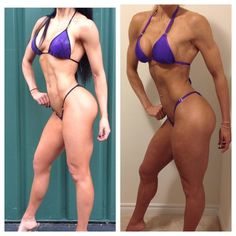 Instagram media by fitbunnyjill - To be the best you must compare yourself to the best.  Here is the reining bikini champion 2 weeks before she won Olympia @ashleykfit and myself 12 days from the @arnoldsports #arnoldamateur #asf2015prep  Dialling in nicely and now the fun of last minute changes to bring the package together.  #asf2015 #bikinif #olympia #ArnoldClassic #mhp #weownthegym #bethere #OhioGetReady #commitment