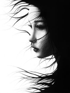 The World's Best Ever Beauty and fashion photography Foto Portrait, Portrait Studio, Female Portrait, Portrait Photography, Fashion Photography, Black And White Portraits, Black And White Photography, Photo D Art, Japanese Art