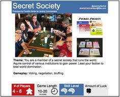Secret Society by Franklin Kenter and Jeremy Commandeur