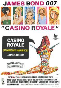 James Bond 007, Casino Royale (1967) - John Huston & Ken Hughes •