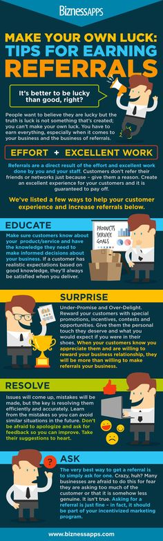 Tips for Earning Referrals