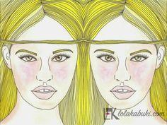 IMÁGENES DOBLES 2 | Lola Kabuki  #love #art #watercolor #paintings #illustration