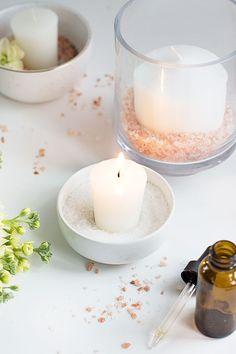How to Make Himalayan Salt Candle Diffusers