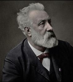 Jules Verne, the father of science fiction, would be 188 years old today. He was a french author who pioneered the science fiction genre. He is best known for his novels Twenty Thousand Leagues Under. Jules Verne, Book Writer, Book Authors, Writers And Poets, Portraits, Playwright, Science Fiction, Famous People, History