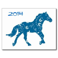 Blue and White Year of the Horse Postcard We have the best promotion for you and if you are interested in the related item or need more information reviews from the x customer who are own of them before please follow the link to see fully reviewsThis Deals Blue and White Yea...
