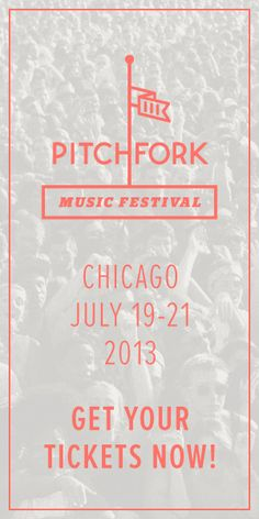 Love this Pitchfork Music Festival ad.