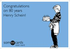 Congratulations on 80 years Henry Schein!
