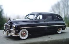 1950 Packard with the popular Henney Hearse Conversion.