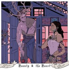 Diana and Gwyn aka Beauty and the Beast ...  From cassandrajp ... shadowhunters, the dark artifices, diana, gwyn