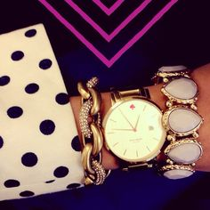 Kate Spade...perfectly stacked