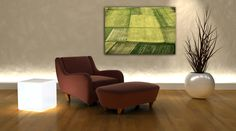 Abstract photography, field in bloom, nature landscape, Castelluccio Italy, living room decor, printable art, DOWNLOAD colour photography di FabPhotoFineart su Etsy