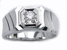 New Men us Wedding Ring Diamond Wedding Ring Mens by TemptingJewels