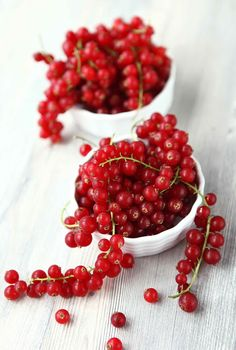 Red Currants...great winter decorating idea