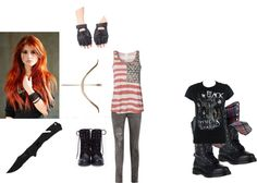 """Zombie Apocalypse :3"" by smallesthale ❤ liked on Polyvore"