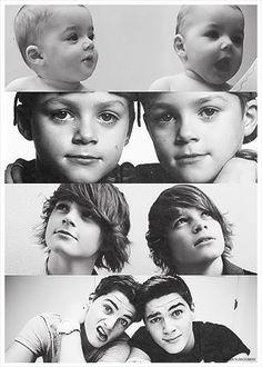 Jack and Finn Harris