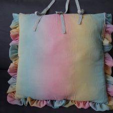 Kolorowa poduszka dekoracyjna