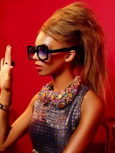 Ella Paige in Oliver Goldsmith Sunglasses - 'Fuz'