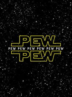 lysergic-acid-diethylamide:  geeknetwork:  Pew Pew By BomDesignz | Available as prints & more via Society6  @dawnashley15