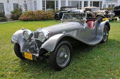 Jaguar 3½ Litre.     encarsglobe.com