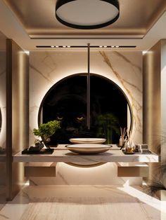 Bathroom interior design 672021575634853014 - Interior Design – UDesign Source by Washroom Design, Toilet Design, Bathroom Design Luxury, Luxury Interior Design, Architecture Interior Design, Interior Design Toilet, Modern Luxury Bathroom, Marble Interior, Gold Interior