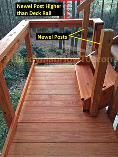 Best Image Result For How To Attach 4X4 Railing Post To Deck 400 x 300