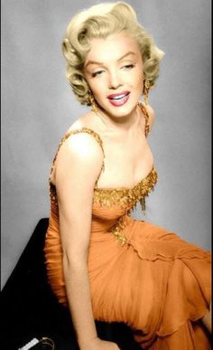 {Colorized Photo} Marilyn