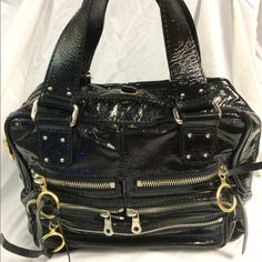 Selling this Chloe patent leather Betty satchel in my Poshmark closet! My username is: b287807. #shopmycloset #poshmark #fashion #shopping #style #forsale #Chloe #Handbags