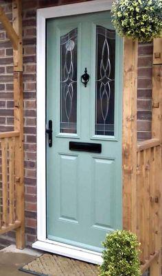 Victorian Curve composite front door