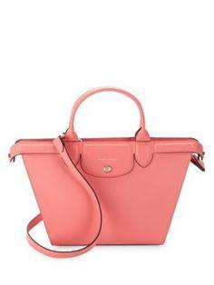 LONGCHAMP . #longchamp #bags #shoulder bags #hand bags #leather #satchel #metallic #