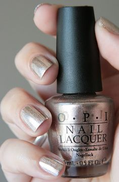 OPI Designer... De Better from the Muppets collection... pretty silver/champagne