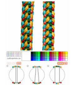Kumihimo Patterns | Craft Design Online - tools to design kumihimo braids, plaits ...