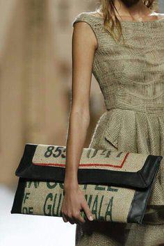 Vestido y bolso