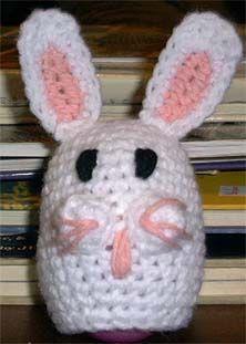 Easter Egg Bunny Buddy - free crochet pattern