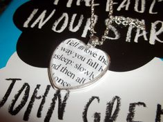 The fault in our stars necklace!