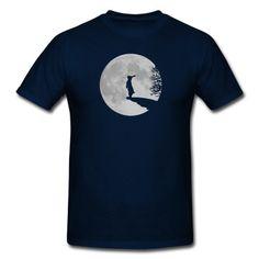 werewolf bunny bunnies rabbit hare moon fullmoon howl T-Shirt | Spreadshirt | ID: 6803939