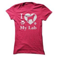 I Love My Lab - #zip up hoodie #sweater dress. THE BEST => https://www.sunfrog.com/Pets/I-Love-My-Lab-ladies.html?68278