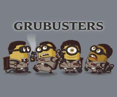 Ghostbuster Minions for Leah Kaye!